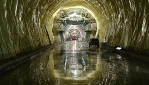 Túnel de la Canda, alta velocidad Madrid-Galicia. Lubián de la Mezquita, Zamora (España) / Tunnel of 'la Canda', high-speed rail Madrid-Galicia. Lubián de la Mezquita, Zamora (Spain)