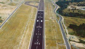Pista de Vuelo 18L 36R Aeropuerto Barajas (Madrid) / Madrid-Barajas Adolfo Suárez Airport. Runway 18L-36R