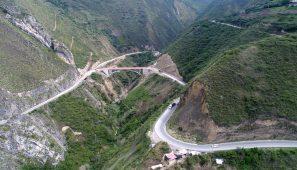 Construcción del Puente Tingo y accesos (Perú) /  Construction works of the Tingo Bridge and accesses (Peru)