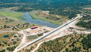 Presa de Burdalo - Caceres /  Burdalo Dam -  Caceres