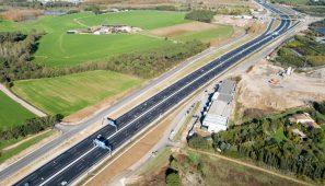 Autovía A-2 del nordeste, tramo Maçanet de la Selva - Sils, Girona / Highway A-2 Northeast, section Maçanet de la Selva-Sils, Girona